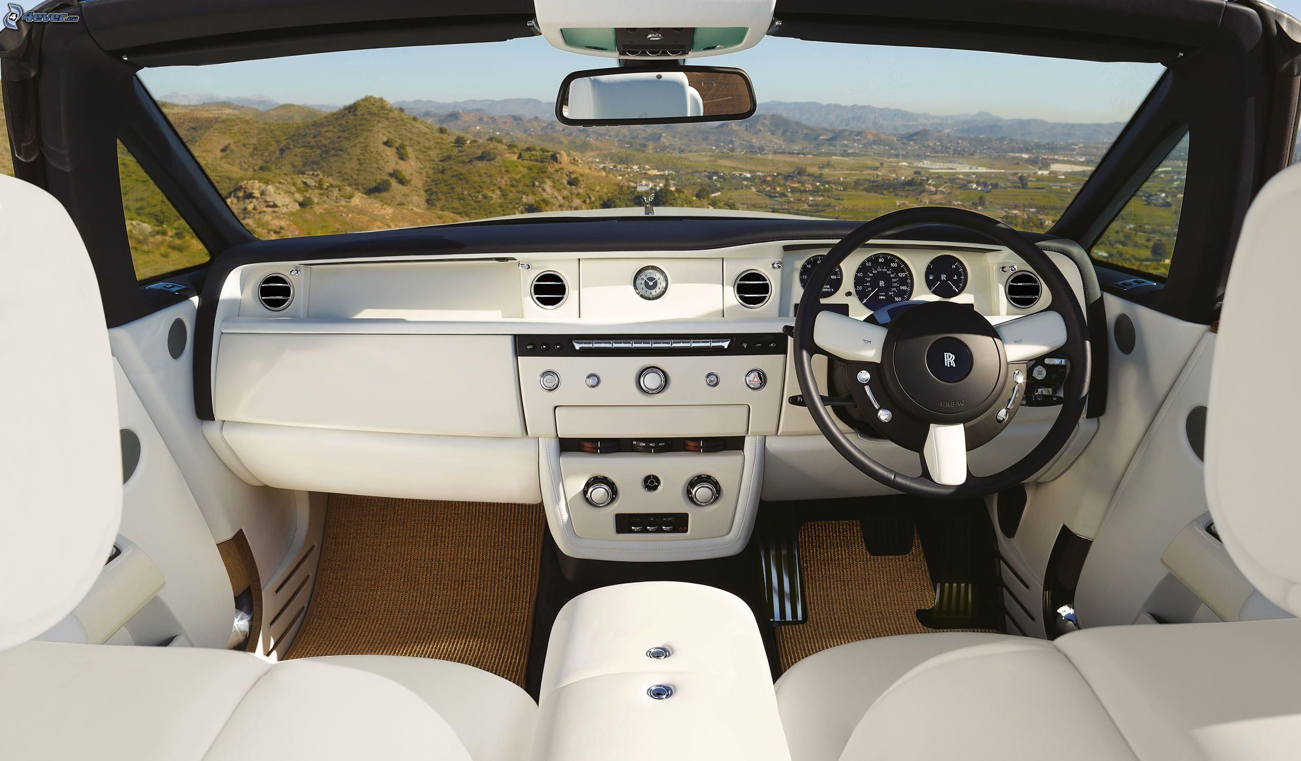 Rolls royce phantom for Interieur rolls royce