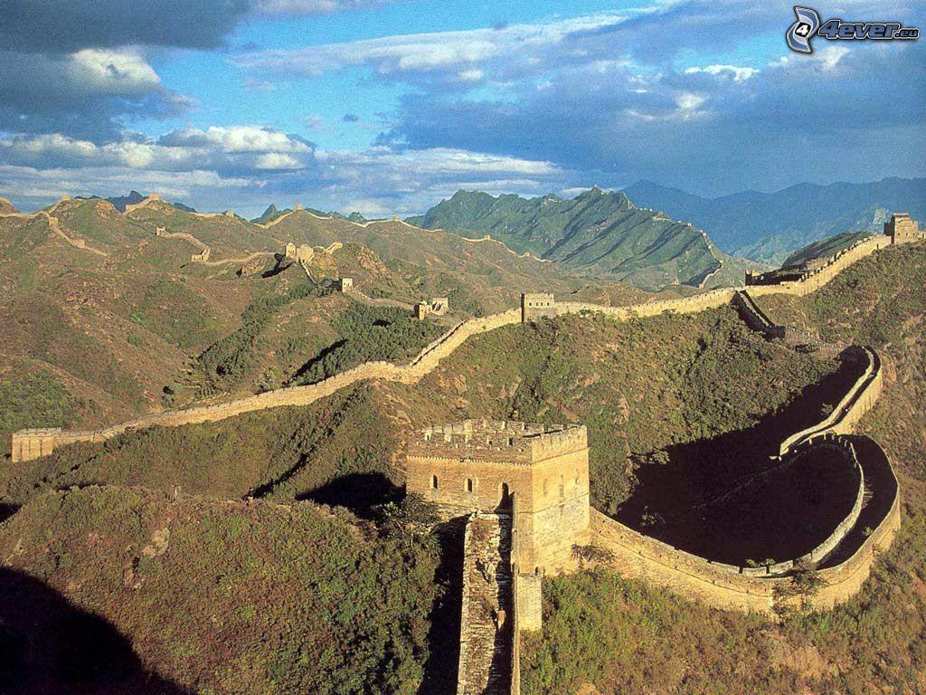 Chinesische Mauer Wallpaper Bild Downloaden