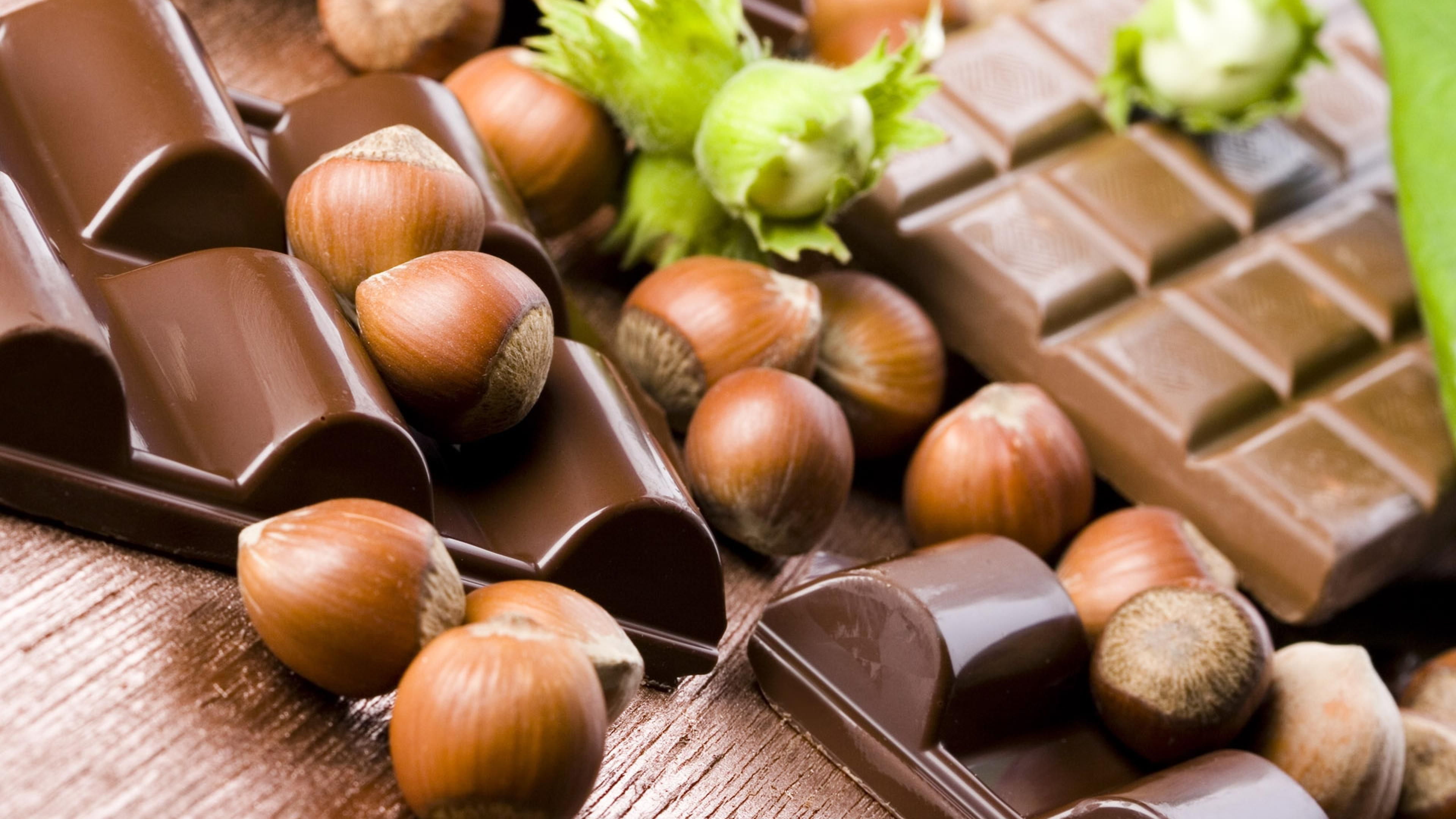 Schokolade Teilen