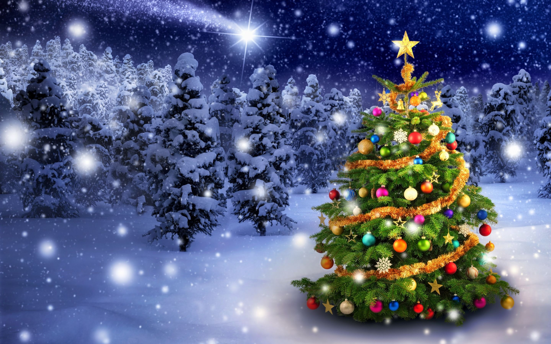Weihnachtsbaum Schneit.Weihnachtsbaum