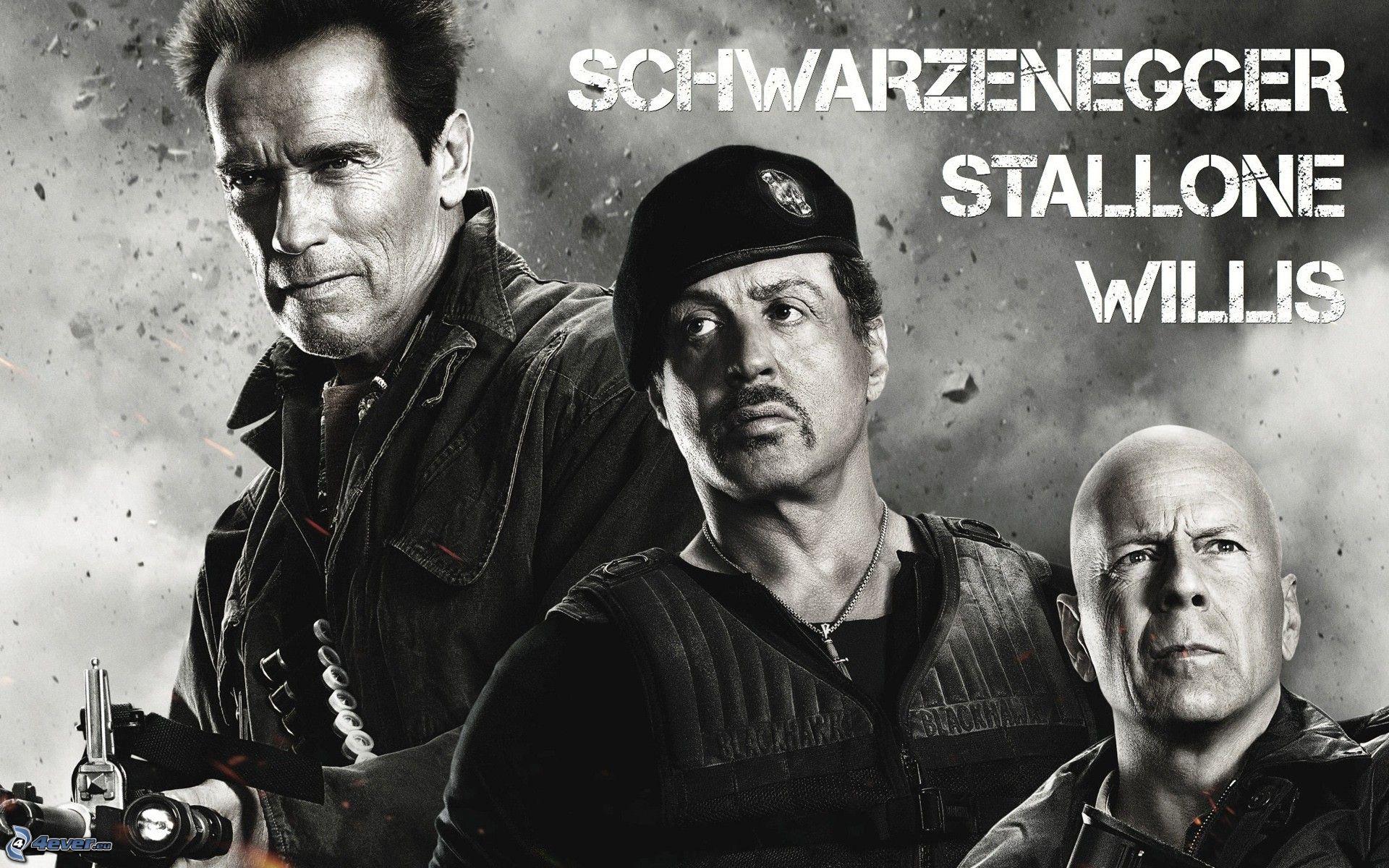 Film Mit Sylvester Stallone Und Arnold Schwarzenegger