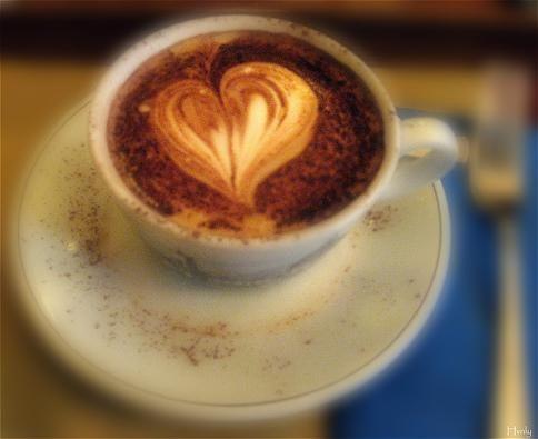 Kaffee Herz