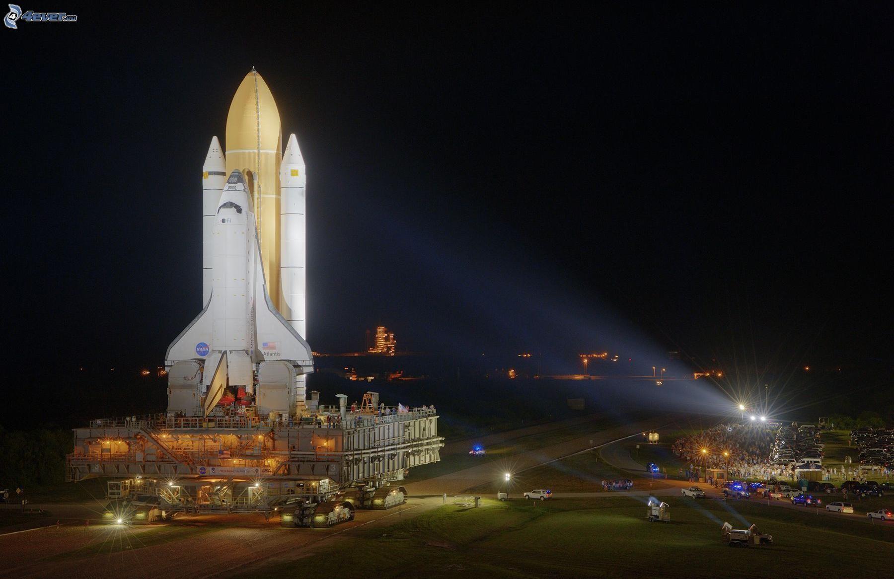 atlantis space shuttle night launch - photo #30