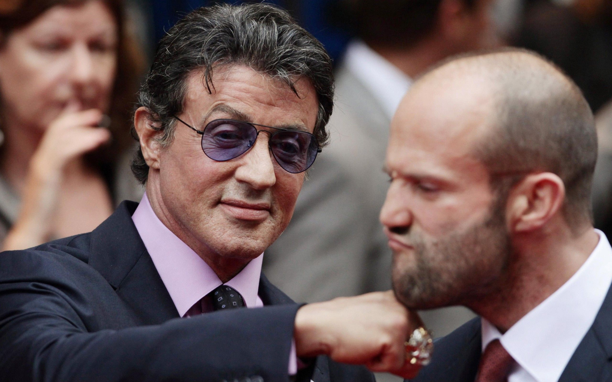 Größe Sylvester Stallone
