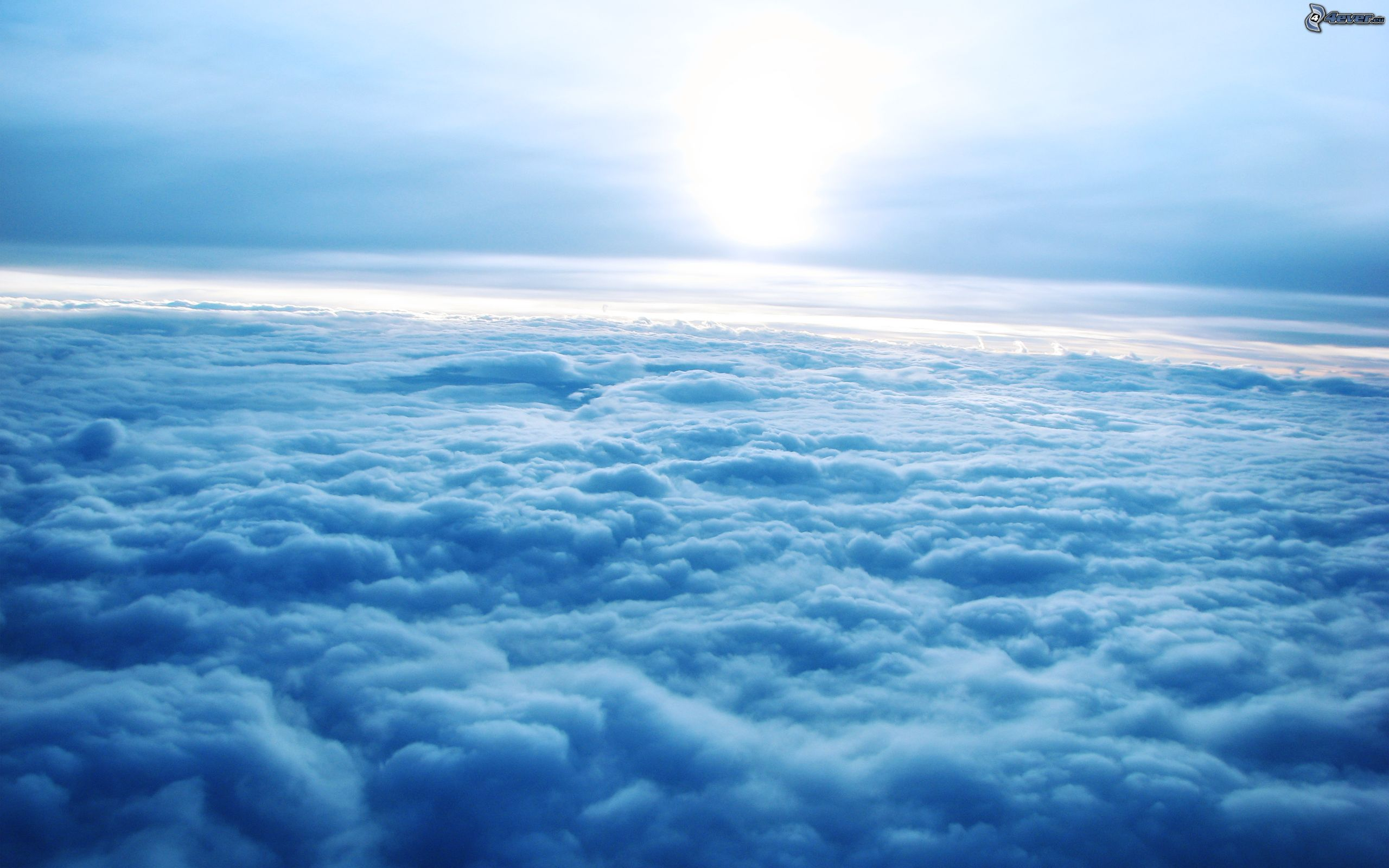 Himmel Wolken Sonne Wallpaper Bild Downloaden