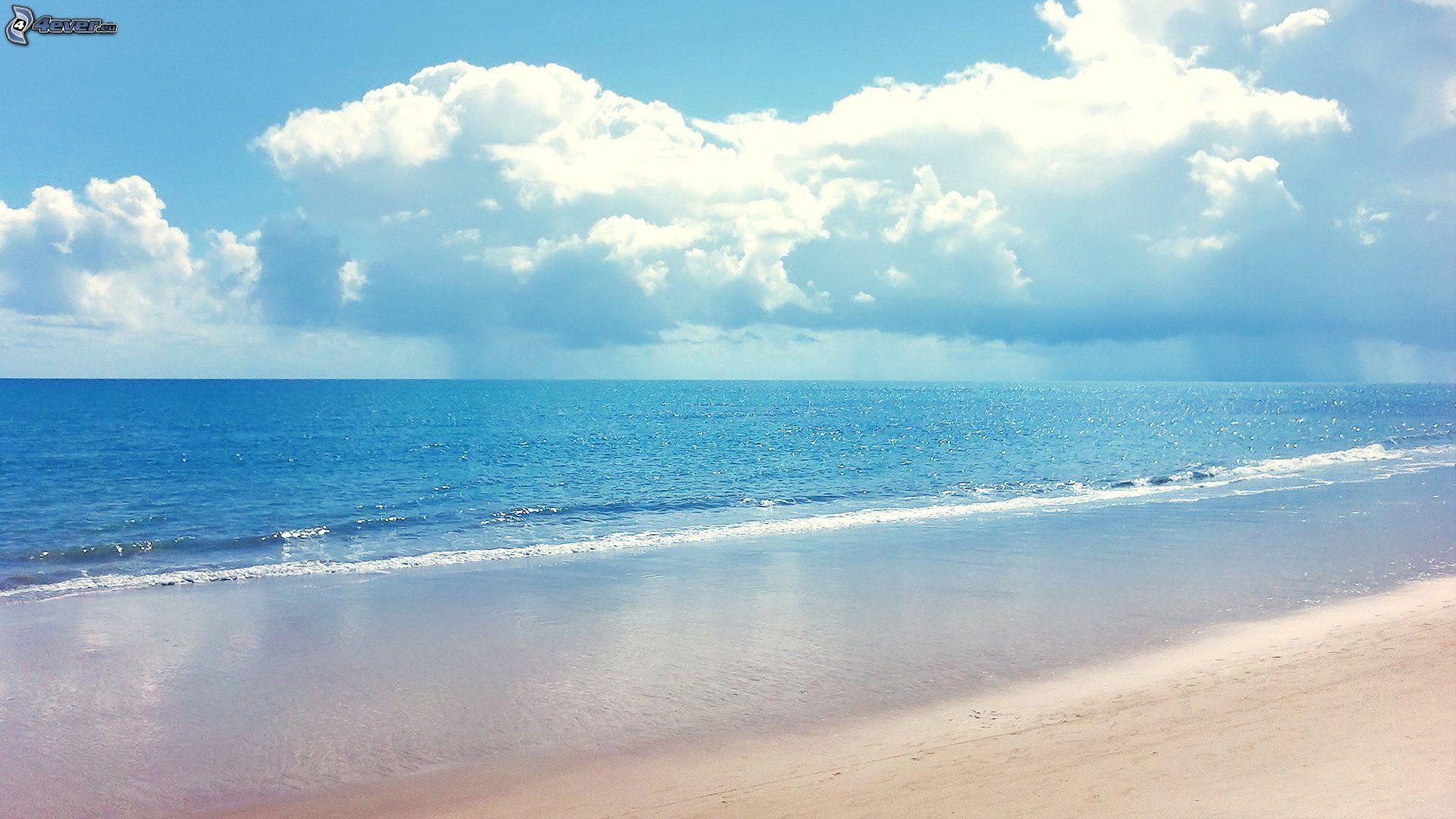 Azurblaues Meer