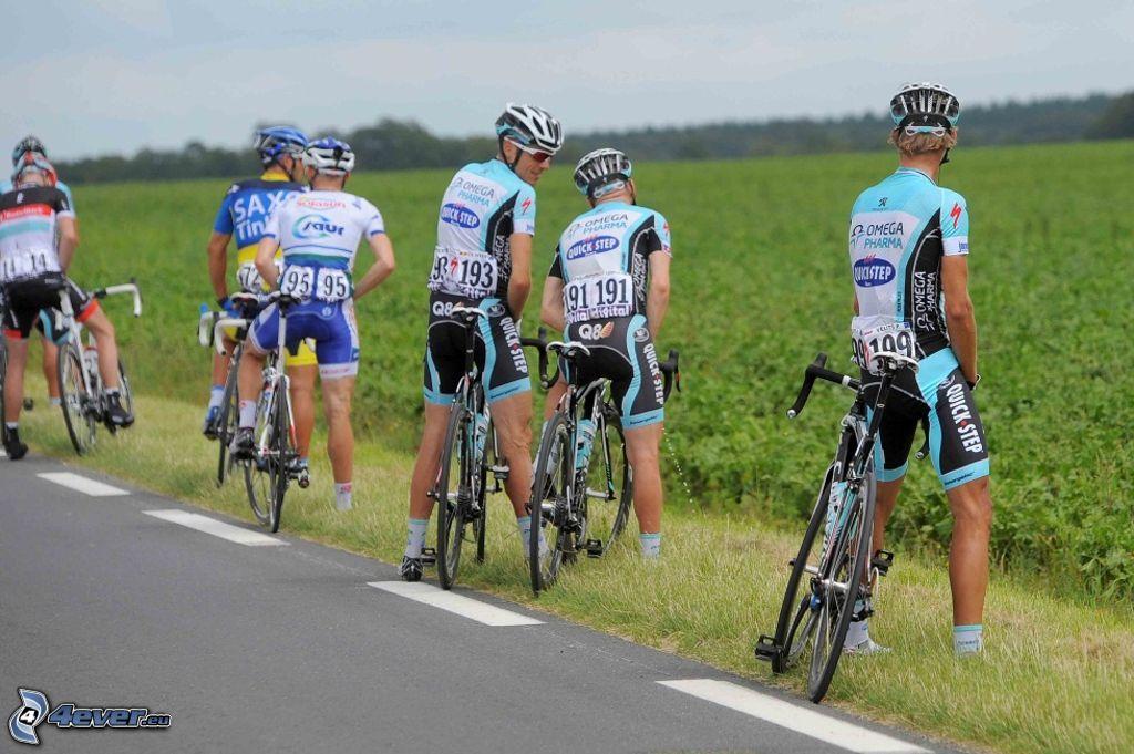 Pause der Tour de France