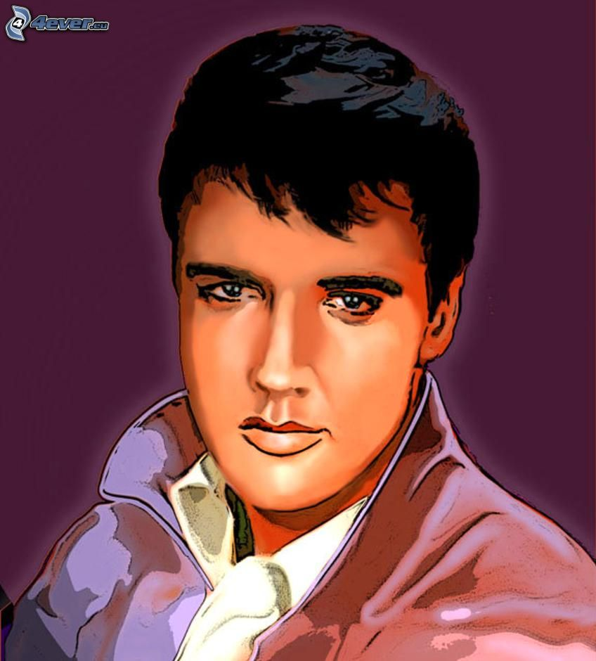 elvis presley. Black Bedroom Furniture Sets. Home Design Ideas