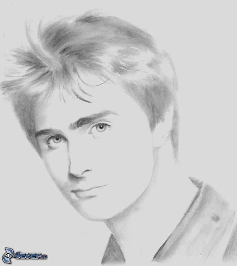 Daniel Radcliffe voller frontaler Akt