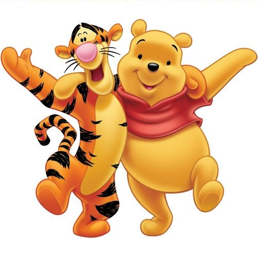 Pu Der Bär Und Tiger