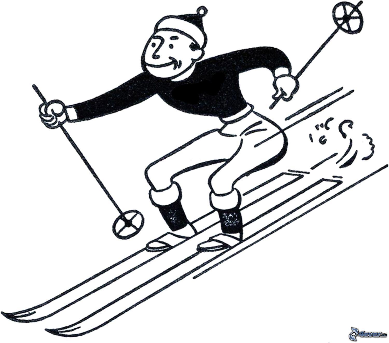 Skifahrer Jim Carrey 2017